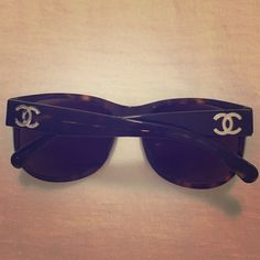 60eb97b7b886 AUTH CHANEL sunglasses! A timeless look! I ve loved wearing these glasses  and