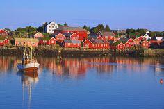*Reine, Norway*   |Reine, picturesque fishing village on Lofoten, Norway|  |Photo by ~Harlekino~ (Thomas Griger) June 18 2011  Reine, Nordland Fylke, Norway|