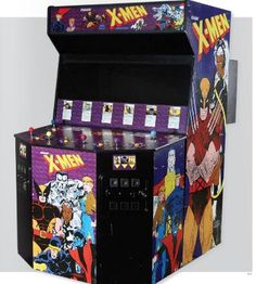 X-men Arcade Game... Loved this game, Finally beat it at Valley Fair in 1998...I bought people's turns and had the full team the entire game...I was Wolverine of course!