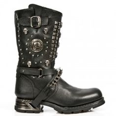 Botte en cuir M.MR025-C1 New Rock