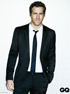 Canadian actor Ryan Reynolds for GQ Mexico...