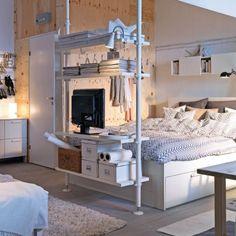 Chambre lumineuse - Chambre - Inspirations - Décoration et rénovation - Pratico Pratique
