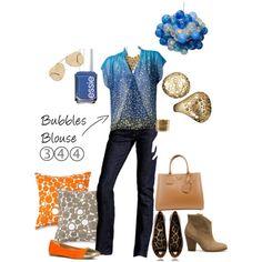 CAbi Spring '13 Bubbles Blouse