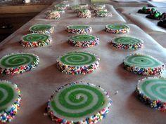 Whoville swirled cookie recipe!