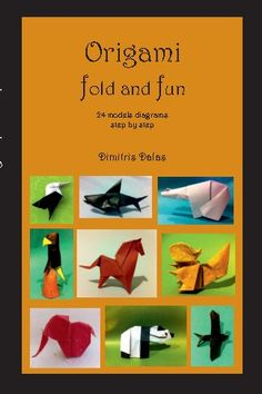 This book contains instructions for origami folds and 24 wonderful models complete with step by step diagrams.