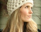 The Ruth Chunky Crochet Hat for Women and Girls