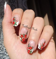 ValAngel Nails Art #nail #nails #nailart #flowers