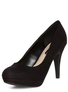 Escarpins noirs compensés à talons hauts - Voir toutes les talons - Voir toutes les chaussures - Chaussures