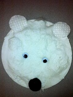 How to make a 3D polar bear... fun kid craft! - C.R.A.F.T.