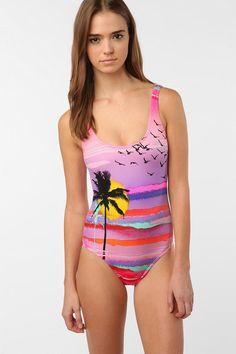 billabong nina sunset onepiece swimsuit