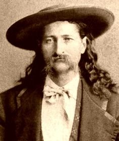 James Butler Hickok better known as Wild Bill Hickok born May 27, 1837. He was a folk hero of the American Old West.