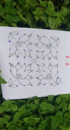 Indian Rangoli Designs, Rangoli Designs Latest, Small Rangoli Design, Rangoli Designs With Dots, Rangoli Designs Images, Rangoli With Dots, Beautiful Rangoli Designs, Mehndi Designs For Hands, Hand Designs