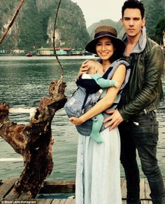'J is the best father': Mara Lane was full of praise for her partner Jonathan Rhys Meyers on Saturday as she took to Instagram with a new photo of their four-month-old son Wolf