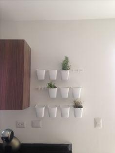 Sunnersta rails and planters - ikea