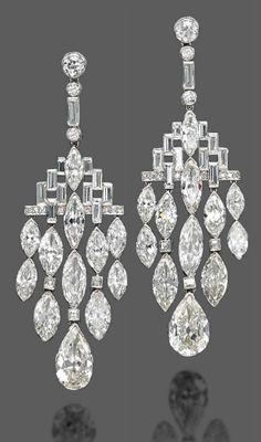 Earrings Bulgari, 1920s