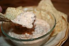 White Rotel Dip:    1 lb. bulk pork sausage  2 bricks of cream cheese  1 can Rotel diced tomatoes    Brown sausage and drain. Add cream cheese and tomatoes. Stir until cheese is melted. Serve with tortilla chips or flour tortillas. Enjoy!