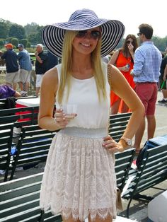 Me at Travers horse races! Urban outfitters dress
