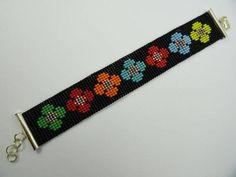 Loom Bracelet Patterns, Seed Bead Patterns, Bead Loom Bracelets, Beading Patterns, Seed Bead Jewelry, Beaded Jewelry, Loom Beading, Bead Weaving, Bead Loom Patterns
