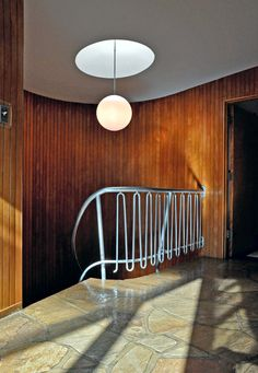Staircase | The Evens Residence | Harris Armstrong | 1951