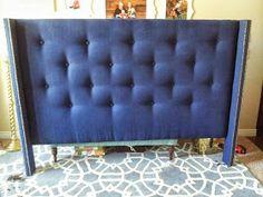 My Frugal Dime: DIY Upholstered Headboard