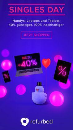 Nur bis zum Singles Day am 11.11. doppelte Vorteile! 40 % günstiger für dich, 100% nachhaltiger für die Umwelt.