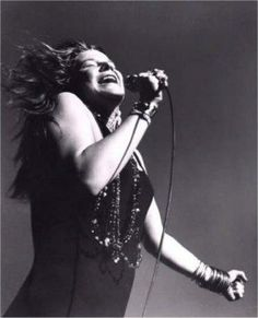 Janis - the original rock diva! Several runners up, but no equals. She was definitely one of a kind.