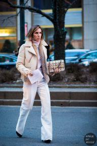 New York Fashion Week FW 2016 Street Style: Before Alexander Wang