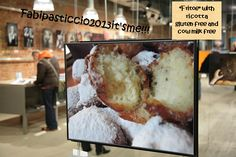 """ITALIAN FOOD """"Semel in anno licet insanire"""" Fritoe with ricotta gluten free and cow milk free, soooo easy, sooo good, irresistible! Fritoe are a Carnival tradition in Venice, they have to be tasted! The recipe is on my blog, give it a try ;-)"""