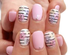 42 Modern Floral Nail Designs To Try This Summer - Nails C