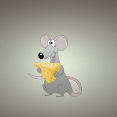 Mouse With Chesse