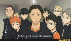 Haikyuu funny  Where was this guy when I was a high school student?