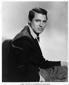 Portrait of Cary Grant, 1936 Hollywood Men, Old Hollywood Stars, Vintage Hollywood, Hollywood Glamour, Classic Hollywood, Classic Movie Stars, Classic Movies, Black And White Stars, Cinema