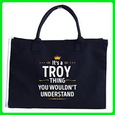 Its A Troy Thing You Wouldn't Understand Cool Gift - Tote Bag - Totes (*Amazon Partner-Link)