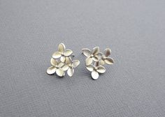 Hey, I found this really awesome Etsy listing at https://www.etsy.com/listing/106579640/cherry-blossom-studs-earrings-silver