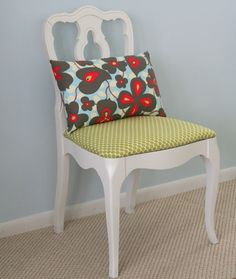 I have a similar chair that could someday look this cute!