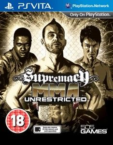 Download For Free SUPREMACY MMA Ps Vita  Supremacy MMA: Unrestricted brings the brutality of unsanctioned, amateur and unlicensed MMA fighting to your PS Vita, favouring fast-and-furious gameplay and underground aesthetics over official branding and television-style presentation. psvitagamesfull.com