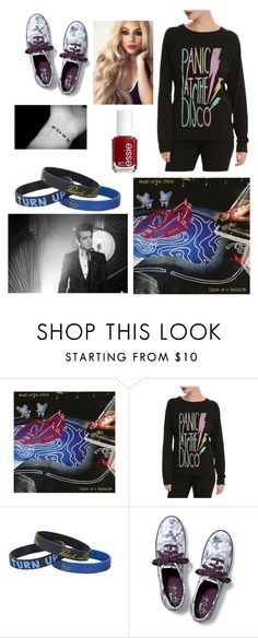 """Panic! At The Disco's new album Death Of A Bachelor"" by juju-mari-pie on Polyvore featuring Paul Frank, Keds and Essie"