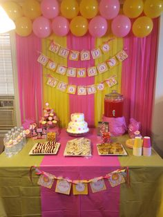 Layla first birthday