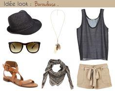 Blog Mode - Idée look Baroudeuse @MargyBlog http://margy.fr