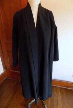 50s Jacket Swing Coat Ladies Jacket Full Skirt by ValleyVintageLLC