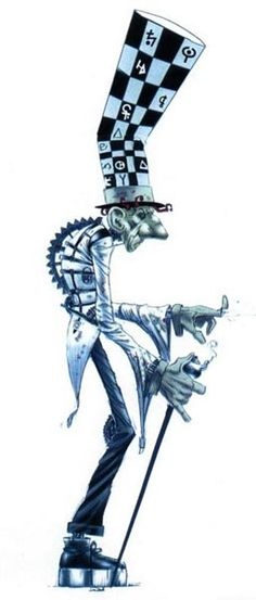 The Hatter formalize madness returns. Kinda looks like a Steampunk troll doesn't he?