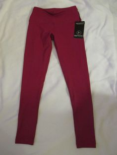 b1e0cf3b68 Pants Yoga Legging 90 Degree By Reflex High Waisted Color Cranberry Style  PW7917 #90DegreebyReflex #