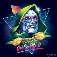 Rocky-Davies-Villains-80s-Album-Cover-Doom