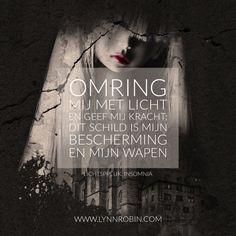 Quote uit Insomnia - de Slaapwandelaar Duologie deel 1, van de young adult/urban fantasy serie de Insomnia Saga, door indie-auteur Lynn Robin.