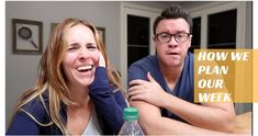 Rachel Hollis: Working Mom's Weekly Prep Routine - Here are a few tips and tricks from Rachel and Dave Hollis that make their lives easier every week, and how the Cozi app is their lifeline. ♥... #promotion
