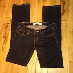 Abercrombie and Fitch Size OR 25w Nice dark blue Jeans size 25w 33L Abercrombie & Fitch Jeans Straight Leg
