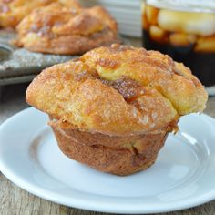 Pumpkin Pull Apart Muffins are just like mini versions of monkey bread. Except with a super delicious fall twist! And they start with refrigerated biscuit dough.