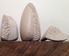Inspired by rose seeds. Ceramics by renata kruyswijk