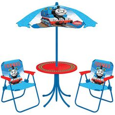 Thomas The Train Table And Chair Set - Decor Ideas Thomas The Train Table, Thomas The Tank, Wakanda Marvel, Engine Table, Thomas Birthday, 2nd Birthday, Patio Furniture Sets, Kids Furniture, Outdoor Furniture
