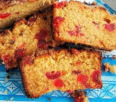 Golden Syrup, Farmhouse Tea and Cherry and Almond Cake - Lavender and Lovage